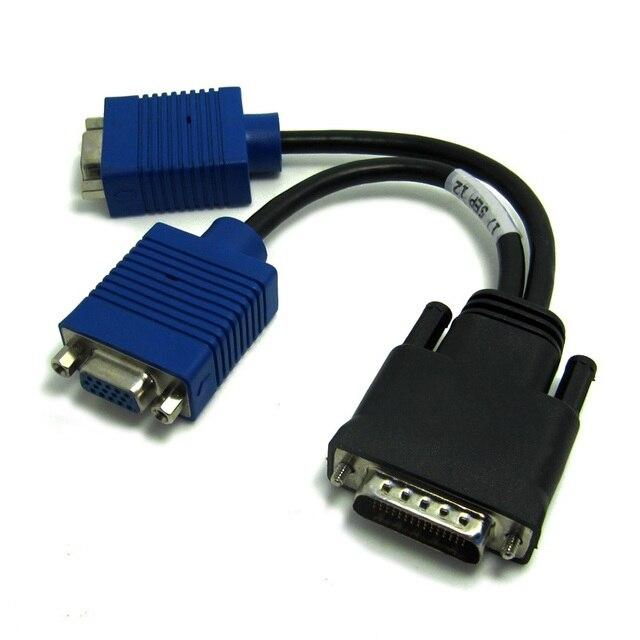 DMS 59 Pin zu 2 Vga kabel DVI 1 bis 2 Adapter Kabel DVI 59 Pin auf ...