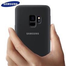 Samsung Galaxy S9 S8 plus Case Silicone Original Back Cover S 9 S 8 plus g9550 9500 Protective Anti-wear