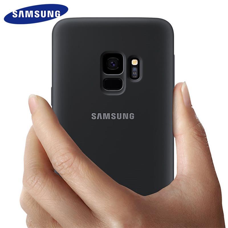 Samsung galaxy s9 s8 mais caso silicone original capa traseira s 9 s 8 plus g9550 9500 proteção anti-wear