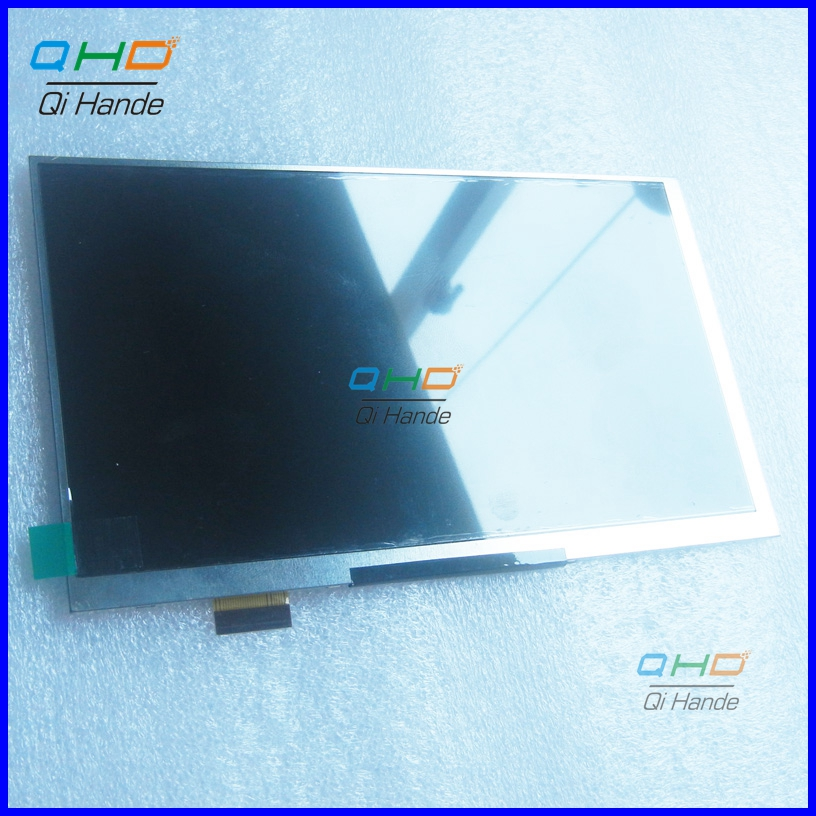New For 7 irbis TX35 3G TABLET 30pins LCD Display Matrix 1024*600 TFT LCD Screen Panel replacement Free Shipping new lcd display 7 inch for digma hit 3g ht7070mg tablet tft 40pin screen matrix digital replacement panel free shipping