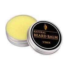 Men Beard Balm Beard Growth Gel Mustache Wax For Styling Beeswax Moisturizing Be