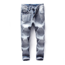 2017 Top Quality Blue Color Famous Dsel Brand Men Jeans,Slim Straight Denim Jeans Men,Zip Fly Original Dsel Brand Jeans Homme!