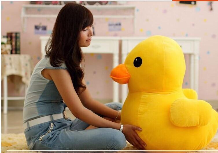 stuffed animal 70cm cute yellow duck plush toy doll baby gift  w3174 stuffed animal 70cm cute yellow duck plush toy doll baby gift w3174