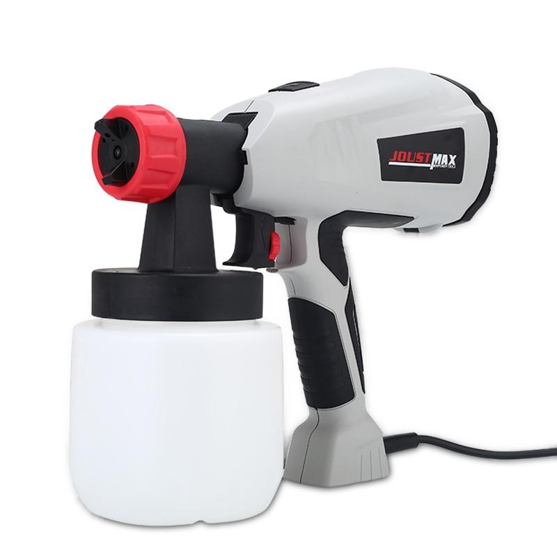220V 400W Detachable high pressure electric spray gun Home Electric Paint Sprayer gun Spray Guns     - title=