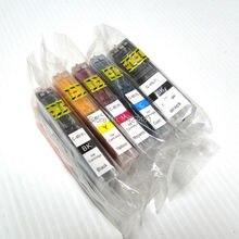 ФОТО YOTAT Compatible PGI 450 CLI 451 Ink Cartridge PGI450 PGI-450 CLI-451 for Canon PIXMA MG5440 MG6340 MG6440 MG7540 IP8740 MX924