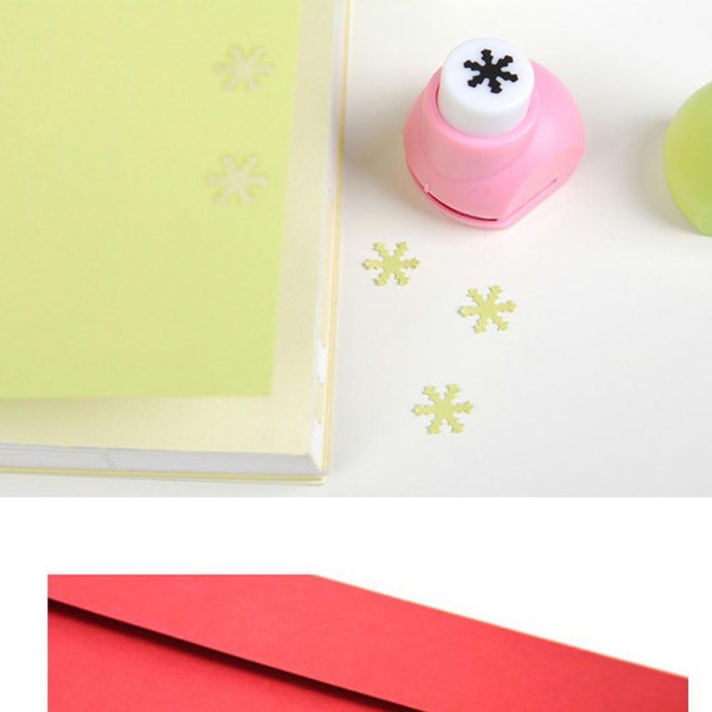 Snow Kid Child Mini Printing Paper Hand Shaper Scrapbook Tags Cards