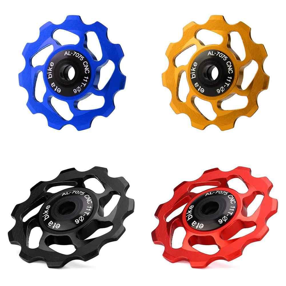 1Set 11T MTB Rear Derailleur Jockey Wheel Ceramic Bearing Guide Roller Bike Part