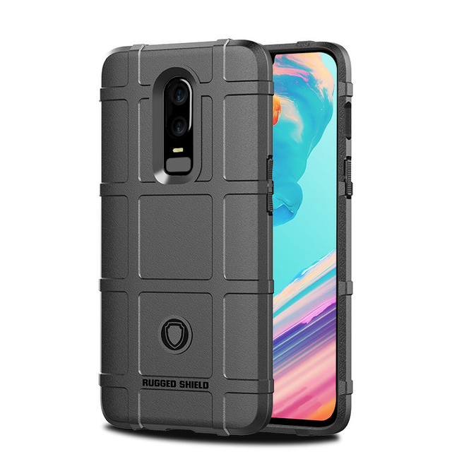 timeless design c2561 56511 US $3.79 5% OFF|Armor Silicone Cases for Oneplus 6 Case One Plus 6 Anti  shock Soft Back Cover for OnePlus 6 Oneplus6 1+6 Bumper Original Case-in ...