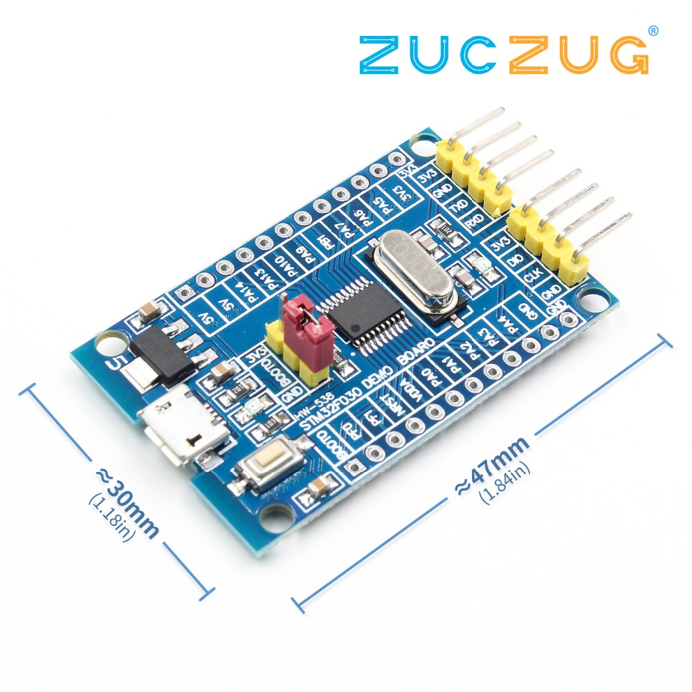 48 MHz STM32F030F4P6 Small Systems Development Board CORTEX-M0 Core 32bit Mini System Development