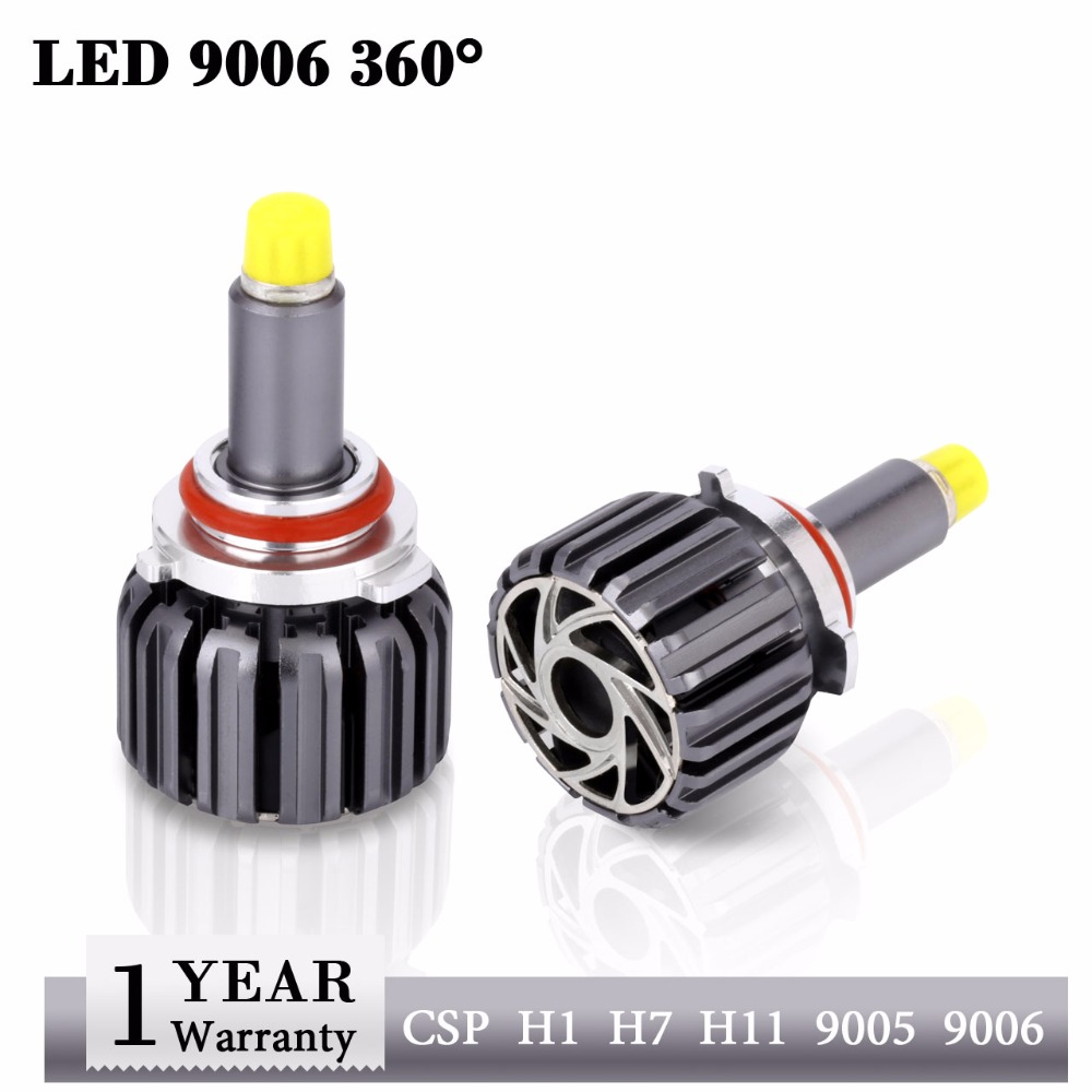 Lampes principales automatiques Led HB4 9006 phare 12 volts 30 W 6000 K CSP Clip 9006 ampoules Led lampe pour voiture HB4 360 ampoule Led voiture marchandises lumière