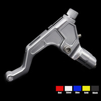 For 22mm 7 8 Handlebar Motorcycle Clutch Lever Assembly Adjustable Folding Extendable CNC T6061 Stunt Aluminum