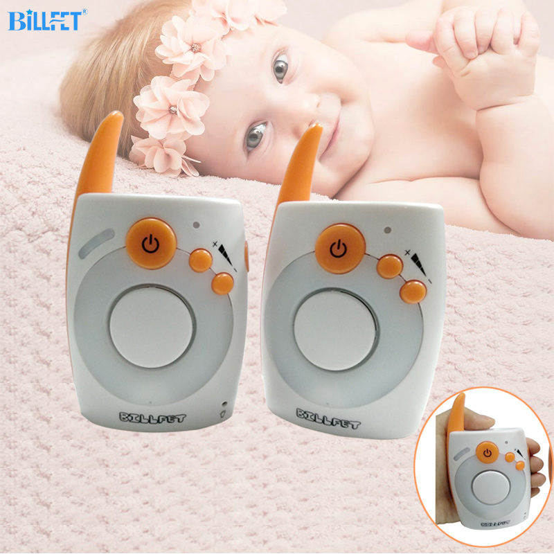 Clear Voice Audio Baby Monitor Two Way Radios Intercom Baby Alarm Radio Nanny Baby Nurse Portable Size Without Internet/WiFi v20 audio baby monitor voice safety portable two way radio night baby crying baby room monitor