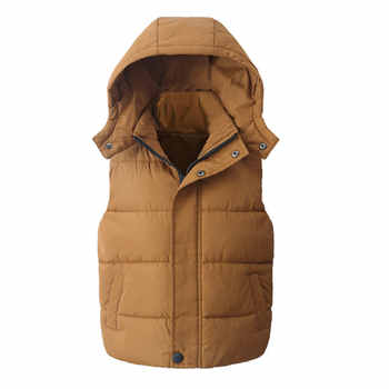 Child Waistcoat Children Outerwear Winter Coats Kids Clothes Warm Hooded Cotton Baby Boys Girls Vest For Age 5-14 Years Old - DISCOUNT ITEM  7% OFF All Category