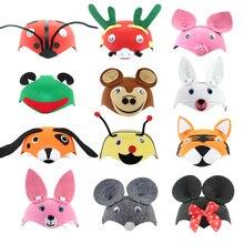 Kids Cartoon Animals Cap Hat Halloween Christmas Children s Day Gift Costume Dress Up Props Caps