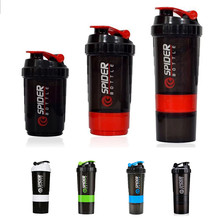 Portable 3 Layers Protein Powder Shaker Cup Plastic PP Mixer Box For font b Fitness b