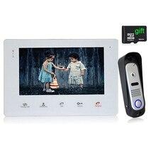 Homefong 7 TFT Wired Video Intercom Doorbell Rainproof Door Phone Camera Chime for CCTV Home Security