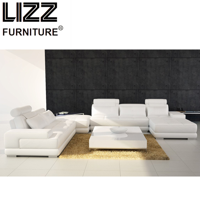 Fabulous Meubles De Luxe Ensemble Vritable En Cuir Canaps Pour Salon Moderne  Canap Causeuse Chaise With Chaise Lizz