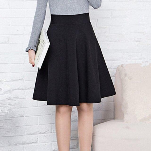 2e5ab9255 Primavera Verano Otoño e Invierno Falda corta para mujer toda la escuela  falda ropa formal