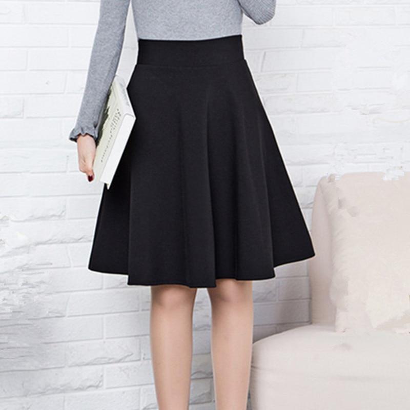 Короткая юбка для женщин, школьная одежда на весну, лето, осень и зиму
