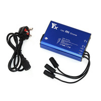 New 5 In 1 Parallel Power Hub Intelligent Battery Charger For XIAOMI MI Drone NEW