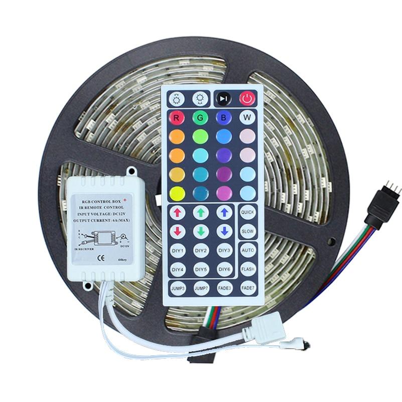 5m led strip light 5050 rgb 5m 150leds waterproof ip65 - Bande led autocollante ...
