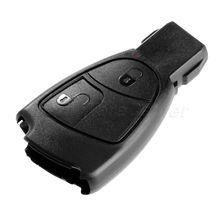 цены на 2 Buttons Replacement Keyless Entry Car Remote Car Key Fob Shell Case Cover For MERCEDES-BENZ C E B S CLS CLK SLK ML CL  в интернет-магазинах