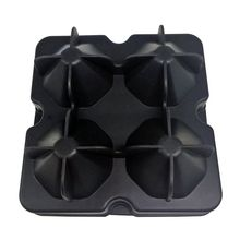 Top 4 Cavity Diamond Shape 3D Ice Cube Mold Maker Bar Party Silicone Trays Chocolate Mold Kitchen Tool A Great Gift