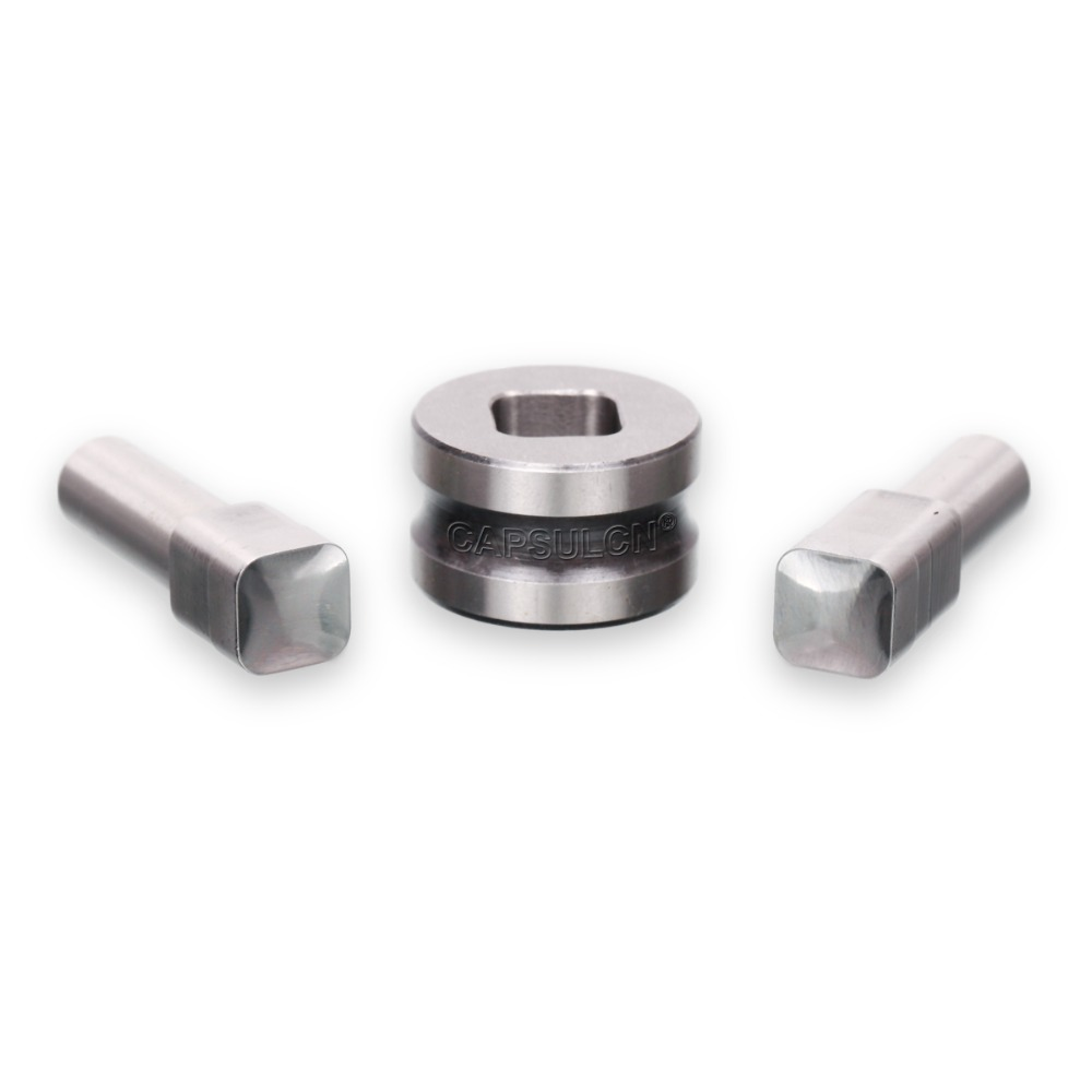 Sale TDP-1.5/0T 12MM Blank Square For Polygon Rectangle Stamping Die Mold/ Pill Press Mould for Punch Tablet Press Machine 6mm blank round stamp tdp 1 5 die mould die punchers for punch tablet press machine