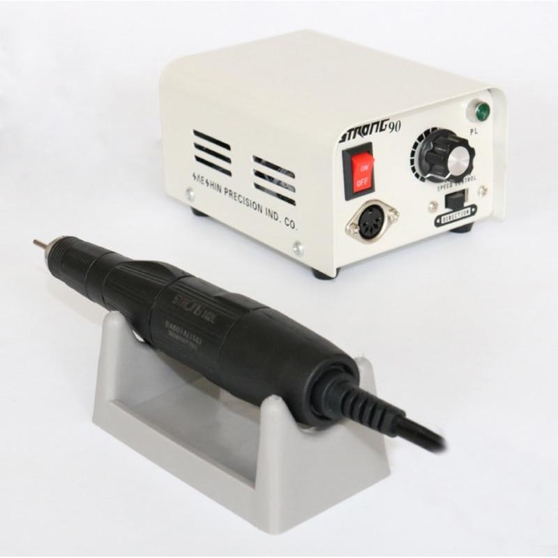 Dental Lab MARATHON Micromotor Machine 90 + 35K RPM Polishing Handpiece Polisher Pen For Teeth Whitening