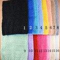 "1 unid Crochet tube top tutú top, 12 ""Large Tube Tops para Niñas Pettiskirt"