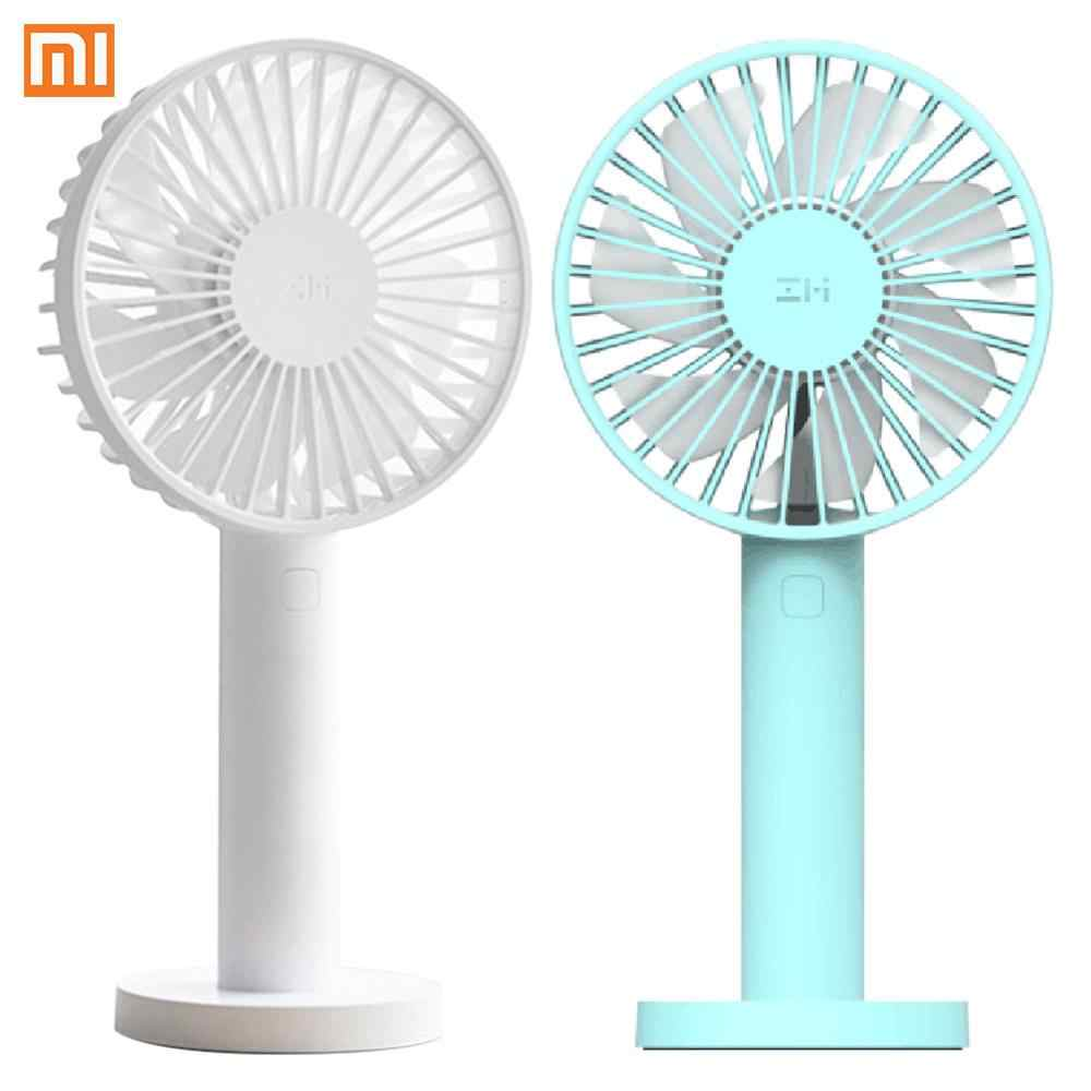 Xiaomi ZMI AF215 Tragbare Handheld Fan Elektrische 3350mAh 3 Speed Handliche Fan USB Port Handliche Mini Fan Für Smart hause Dropshipping