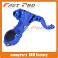 CNC Adjustable Cable Stunt Clutch Lever Perch 2 Fingers For Yamaha YZ250F YZ450F WR250F WR450F YZ250 22MM Handlebar End