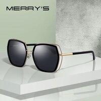 MERRYS DESIGN Women Fashion Square Polarized Sunglasses Ladies Luxury Brand Trending Sun glasses UV400 Protection S6235 Women's Glasses