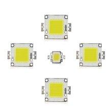 10 w 20 w 30 w 50 w 100 w COB LED שבב מנורת הנורה שבבי זרקור הארה גן כיכר DC 12 v 36 v משולב LED אור חרוזים