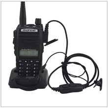 Portable Baofeng Radio UV-82 Walkie Talkie Black Dual Band VHF/ UHF Ham Radio Transceiver Baofeng UV 82