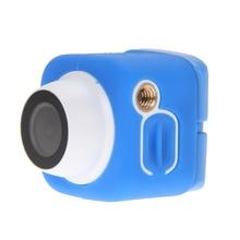 8MP WiFi Selfie Camera Car DVR Full HD Mini Digital Sports WIFI DV Action Waterproof 140d Camera Blue