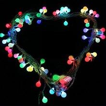 Новый LED Рождество/свадьба/гирлянда партия свет Гирлянды светодиодные свет Батарея действовали свет строка RGB