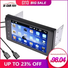 7 inch Android 6.0 System Full HD 1080P MP5 Player with GPS Navigaton Wifi Bluetooth USB 2 Din Multimedia DVD Player For Toyota