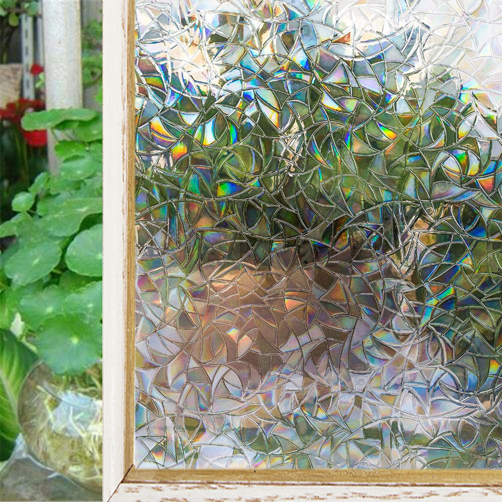 Wholesale 45/60/90 cm wide color matte Static decorative window film; living room bedroom bathroom no glue privacy stickers