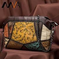 MVA Women Bag Leather Women's Shoulder Bag Woman Crossbody Bags For Women Clutch Female Bags Messenger Ladies Handbag sac a main