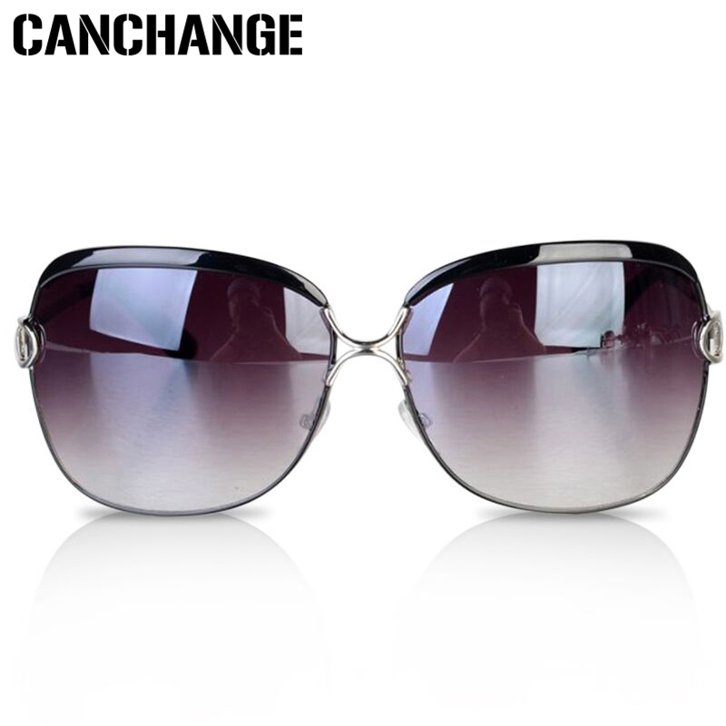 d8bc791a4767 Brand Designer Retro Women Polarized Sunglasses Big Oval Round PC Frame Sun  Glasses Luxury Ladies Driving