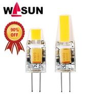 Mini G4 Lampa LED COB Żarówka LED 6 W DC/AC 12 V 220 V G4 KOLBY Ściemniania 360 Kąt Rozsyłu Światła LED Spotlight Żyrandol Halogenowe reflektor