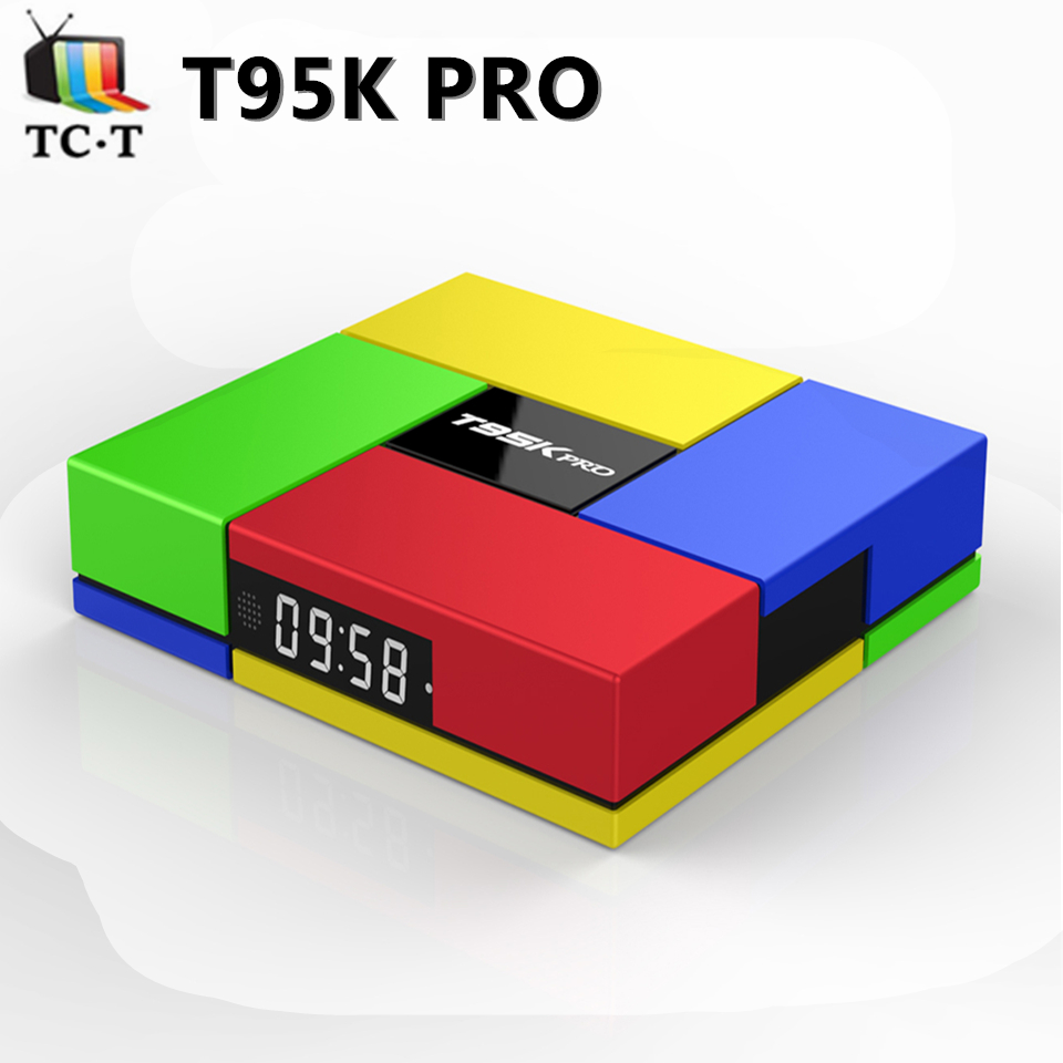 ФОТО 10pcs T95K pro S912 2G 16G TV BOX Android 6.0 Octa Core Wifi 2.4G/5GHz Bluetooth4.0 3D graphics Full Kodi 16.0 Load TV Box