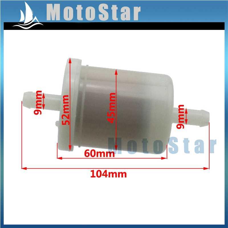 Fuel Filter For BX22D BX23D BX24D BX25 BX1870 BX1860 BX1850D BX1830D on