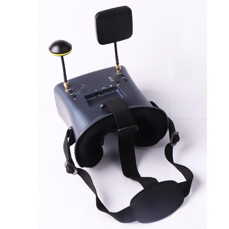 HTB1JwOmazvuK1Rjy0Faq6x2aVXaX - LS 008D 5.8G FPV Googles VR Glasses 40CH with 2000mA Battery DVR Diversity for RC Model 92%Trannt Lens Hobby
