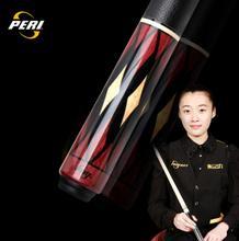 цены PERI EX 2-Piece Pool Cue/Pool Stick Ergonomic Design Hardwood Canadian Maple Billiard Cue 19 Oz 12.75mm Hard Le Pro Tip China