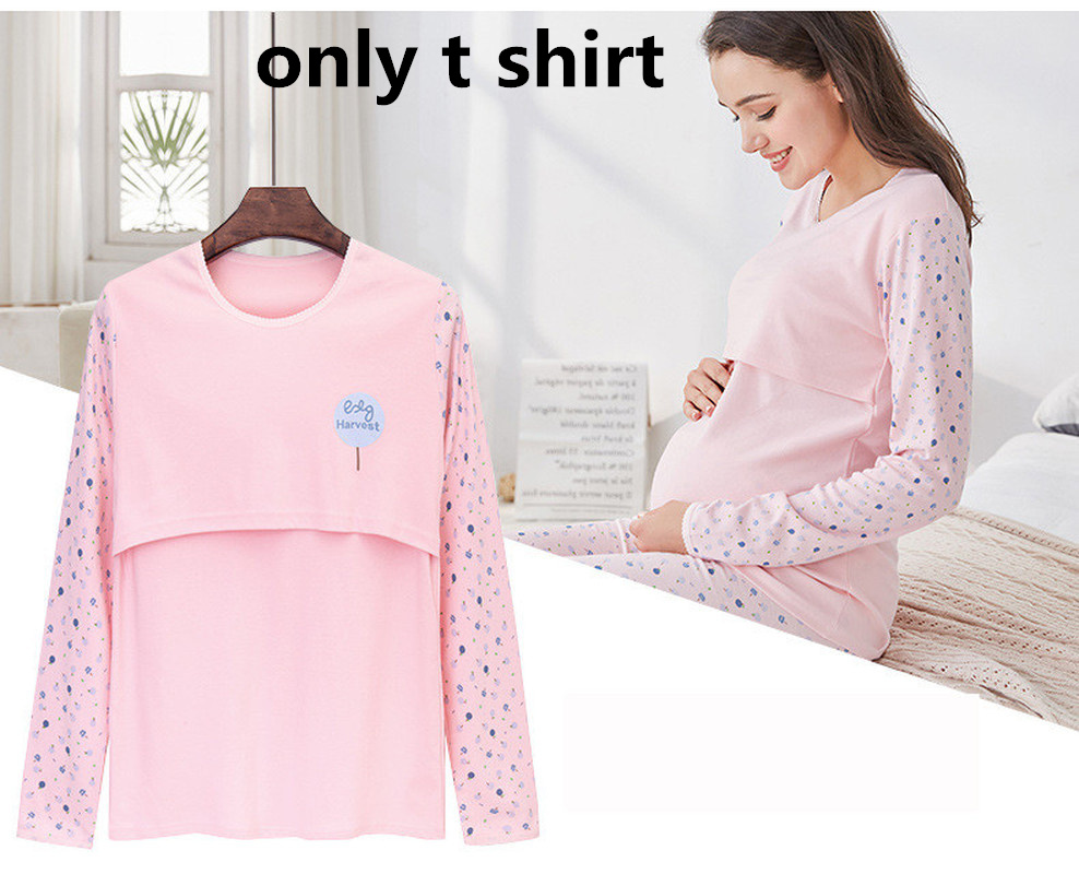 a6fc4383c Sunbaby 2018 primavera moda Navy rayas V cuello profundo manga larga  enfermería lactancia para las mujeres