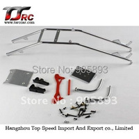 Free shipping!alloy roll cage sets(roll cage,racing lower rail), upgrated parts Baja 5B Parts!