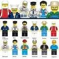 Новый Мультфильм 12 Стиль Оккупации Фигурки Строительные Блоки Игрушки Детям Подарок Совместимость с Lego Новый В Мешок