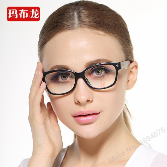 Free prescrption filling shortsighted eyeglasses prescription glasses frame myopia spectacles closesighted optical eyewear 501